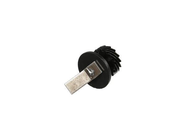 10065648 Schraubenrad Z=15 - zum Tachoantrieb (Lichtmaschinendeckel) - Bild 1