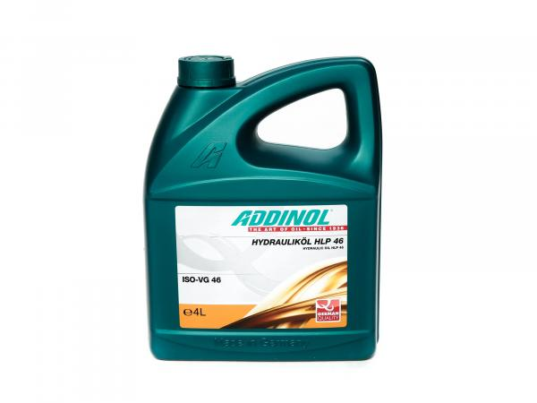 ADDINOL HLP46, hydraulic oil Duo Schwalbe (ISO SAE 46), mineral, 4 L canister