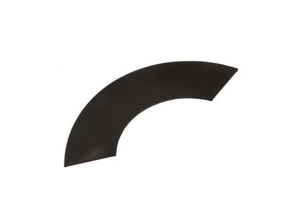 Gummikeder für Beinschutz links, 125mm lang - für MZ ES125, ES150