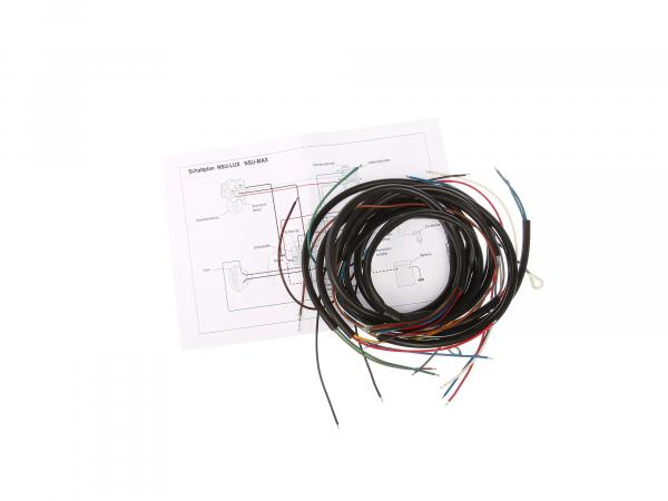 Cable harness suitable for NSU Lux NSU Max (with wiring diagram)