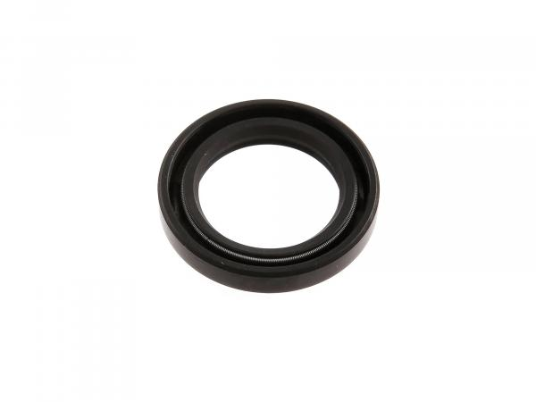 Oil seal 25x37x06, black, double lip - Simson SRA 25/50