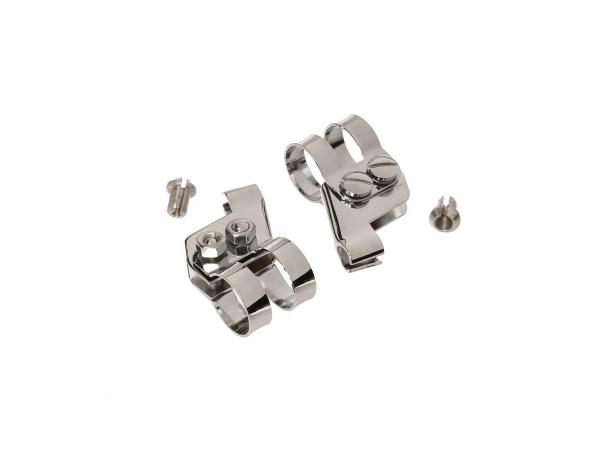 SET lever holder chrome-plated, for AWO-T, RT, BK and ES models