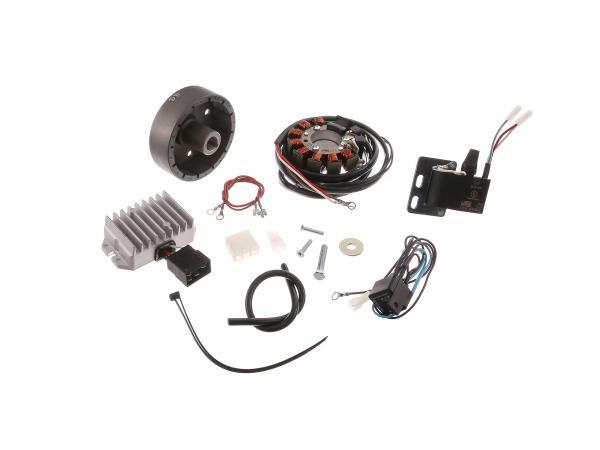 10059166 Lichtmagnetzündanlage 6V 75W mit integrierter vollelektronischer Zündung  RT125 - Bild 1