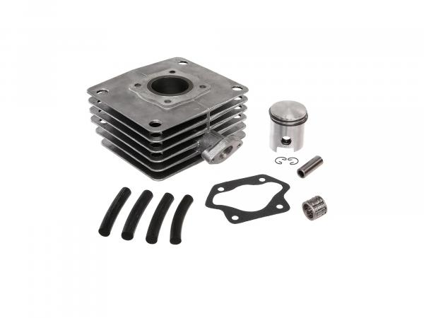 Set: 4-channel cylinder + piston + needle bearing, 60ccm - for Simson S51, KR51/2 Schwalbe, SR50