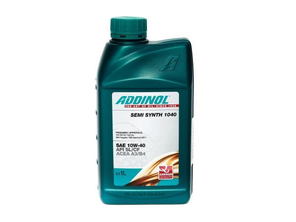 ADDINOL Semi Synth 1040, SAE 10W-40 car engine oil - 1 Liter