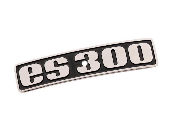 """Schriftzug (Plakette aus Aluminium) """"ES300"""""""