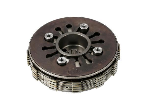10069697 Kupplungspaket 5-Lamellen 1,6 mm Tuning - für Simson S51, KR51/2 Schwalbe, SR50 - Bild 1