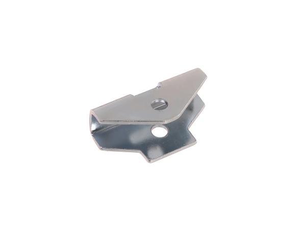 Widerlager für Gepäckträger, glanzverzinkt - Simson S50, S51, S70