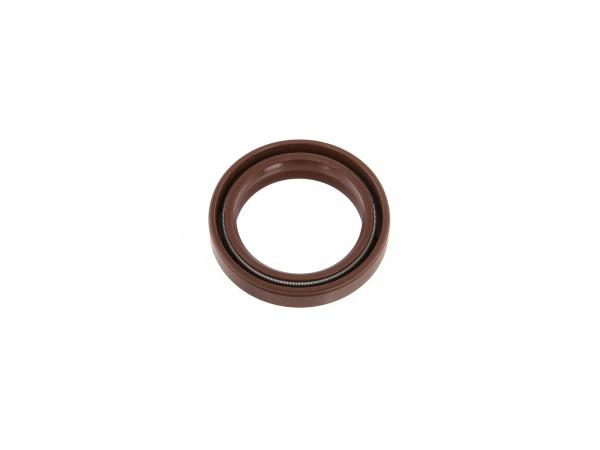 Oil seal 30x40x07, brown, high dust lip for telescopic fork - Simson S50, S51, S70, S53, S83, SR50, SR80