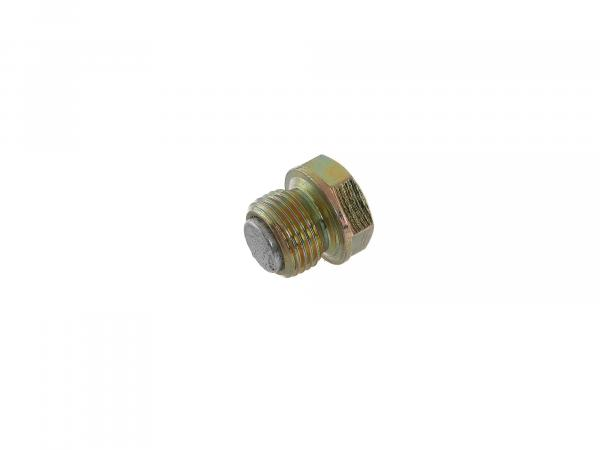 10002158 Ölablassschraube mit Magnet - für Simson S50, KR51/1 Schwalbe, SR4-2 Star, SR4-3 Sperber, SR4-4 Habicht - Bild 1
