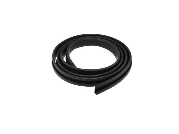 Gummikeder schwarz - für Verkleidung / Schutzblech hinten - Länge ca. 1300 mm - MZ  ES175, ES250, ES300