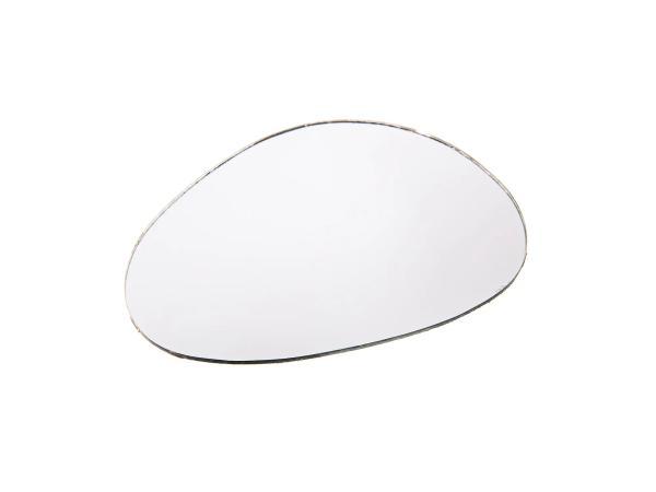 Spiegelglas, links, Niere-rund, 117 x 82mm