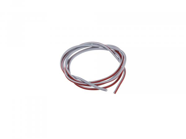 Cable - grey/red 1,5mm² Automotive cable - 1m