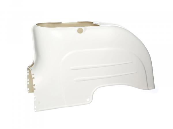 GRP hood part rear, complete - for Simson KR51 Schwalbe