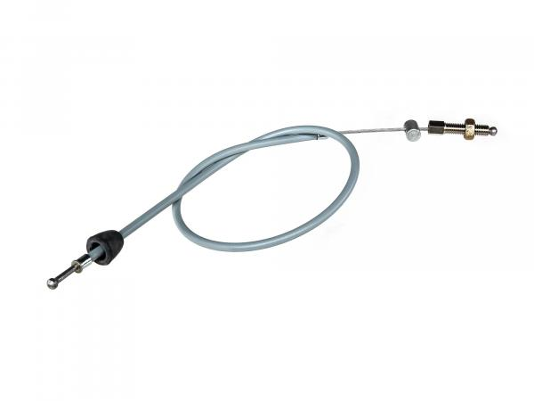 brake cable rear, grey - for Simson SR4-1 Spatz (version with pedals)