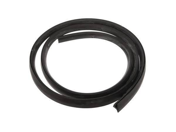 Kedergummi schwarz für das Werkzeugfach (1,0m) - für TR150 Troll