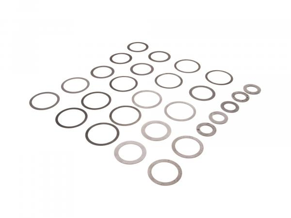 Set: Compensating washers - 27 pieces - for Simson