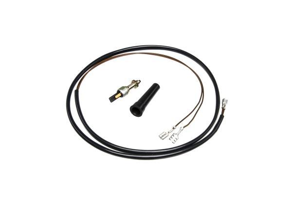 Set: Bremslichtschalter kompl. mit Kabel 8606.11/14 Enduro - Simson S51E, S53E, S70E, S83E