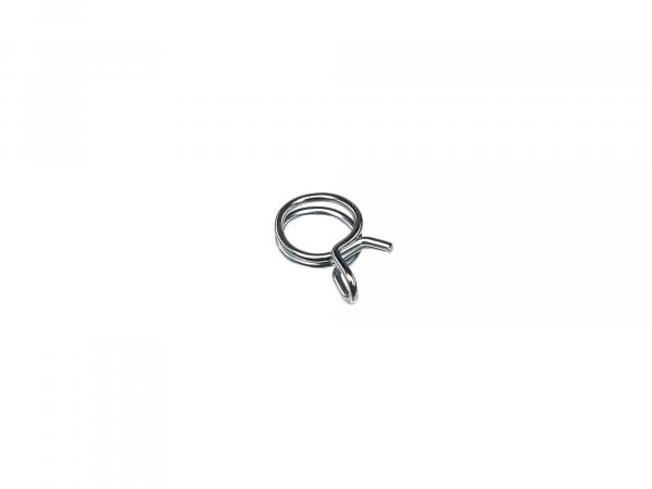 spring wire clamp - Ø= 7,8-8,3mm span - ideal for securing fuel hose