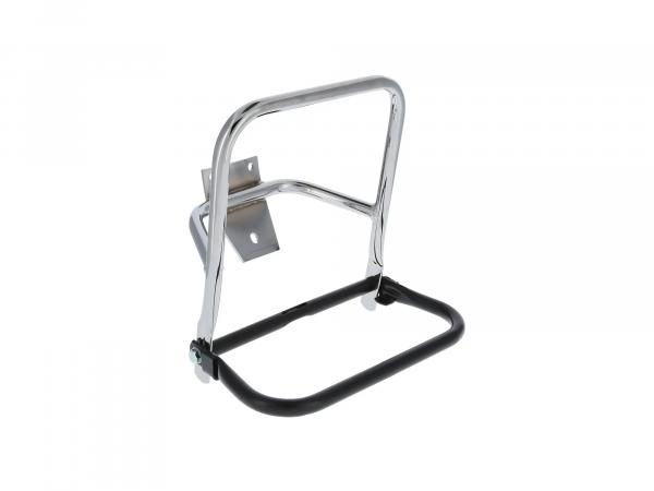 rear luggage carrier chrome/black - for MZ ES125, ES150, TS125, TS150