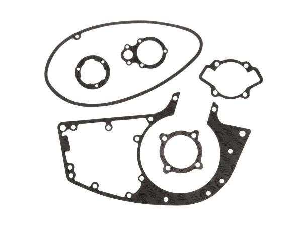 Dichtungssatz Motor, 6x Einzeldichtungen, Material ABIL - MZ RT125/0, MZ RT125/1, RT125/2 - IWL Pitty, SR56 Wiesel