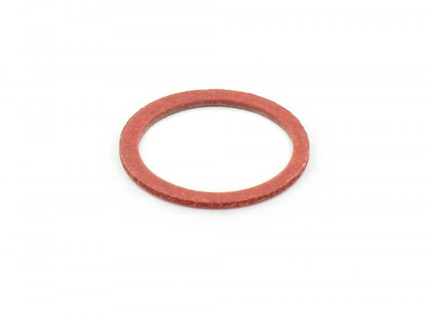 Gasket - (red) for banjo bolt - suitable for carburettor AWO-S