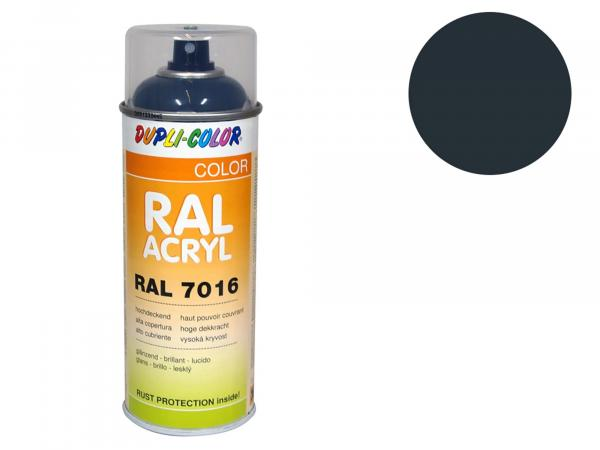 Dupli-Color Acrylic Spray RAL 7016 anthracite grey, glossy - 400 ml
