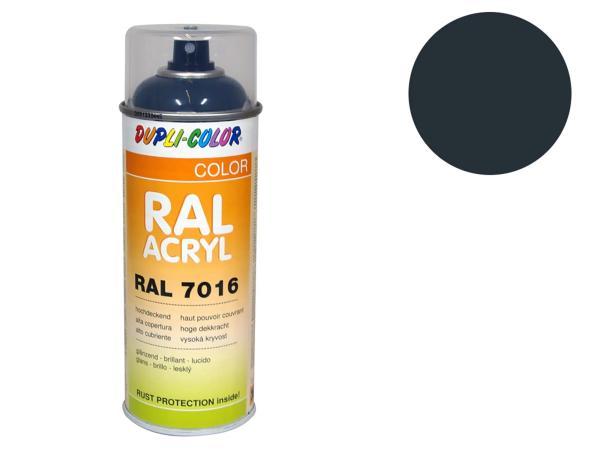 Dupli-Color Acryl-Spray RAL 7016 anthrazitgrau, glänzend - 400 ml