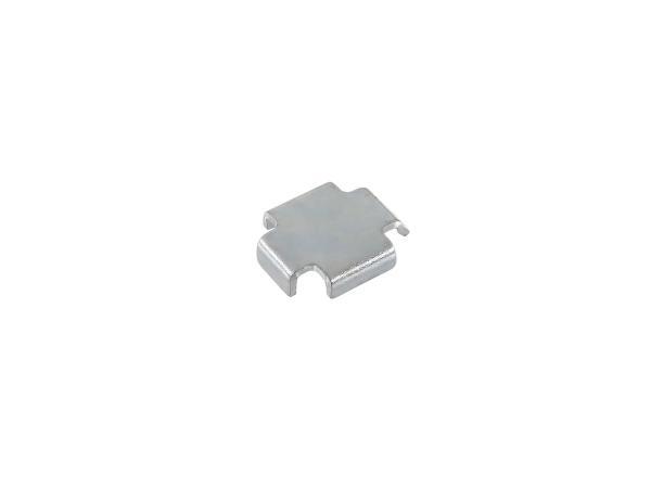 10000622 Bremsbackenzwischenlage 1,5 mm Simson S51, S50, SR50, Schwalbe KR51, SR4 - Bild 1