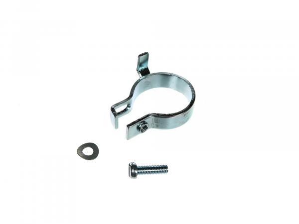 Safety clamp complete for elbow nut, Ø32mm - Simson S50, S51, KR51 Schwalbe, SR50, etc.