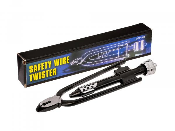 Safety wire pliers
