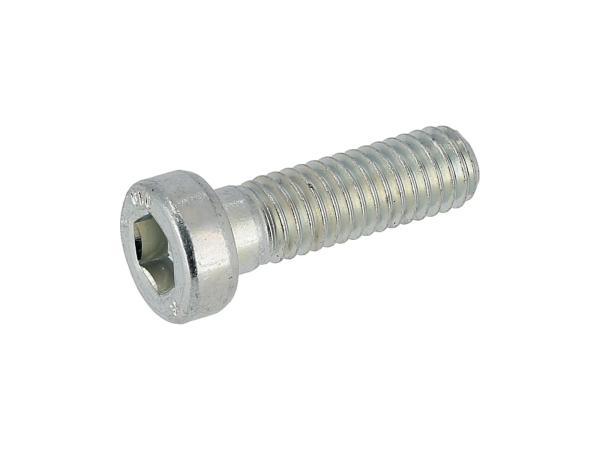 10070610 Zylinderschraube mit Innensechskant, niedriger Kopf, M6x20 - DIN6912, Stahl 10.9 - Bild 1