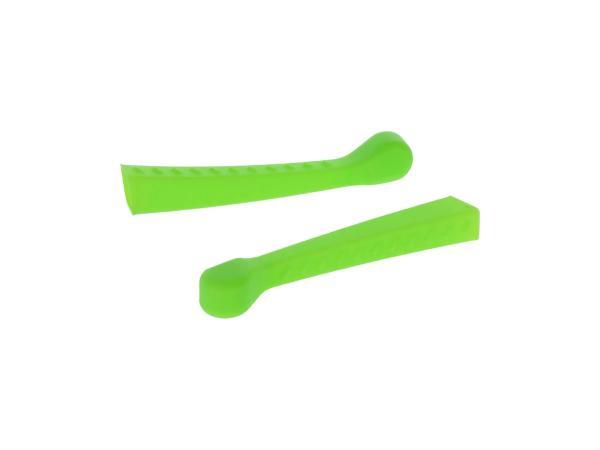 10070480 Set: 2x Handhebel-Hülle 3D, Neon Grün, Sport-Optik - für Simson S50, KR51/1 Schwalbe, SR4-2 - Bild 1