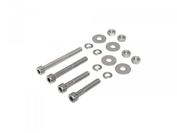 Set: Cylinder head screws, hexagon socket in stainless steel for shock absorbers S50, S51, S53, S70, S83