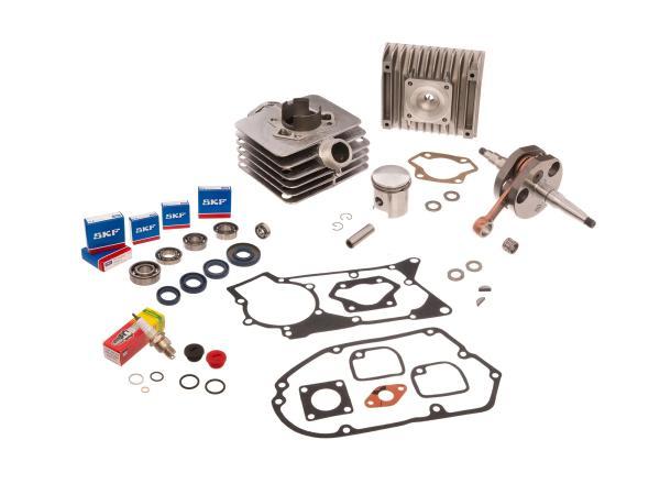 GP10000321 Set: Zylinder kpl. 70cm³ + Dichtungssatz + Kurbelwelle - für Simson S70, S83, SR80 - Bild 1