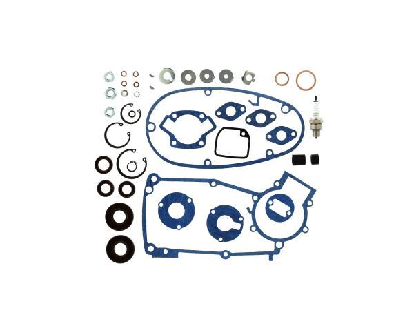 10069840 Set: Dichtungen Kautasit + Kleinteile für Regeneration Motortyp M53/2 - für Simson Schwalbe KR51/1 - Bild 1