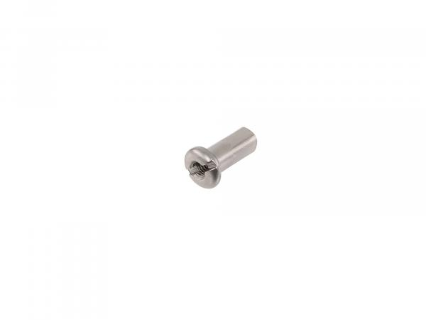 spoke nipple M4 galvanized - for MZ ETZ, TS, ES, AWO, RT125, BK350, EMW R35