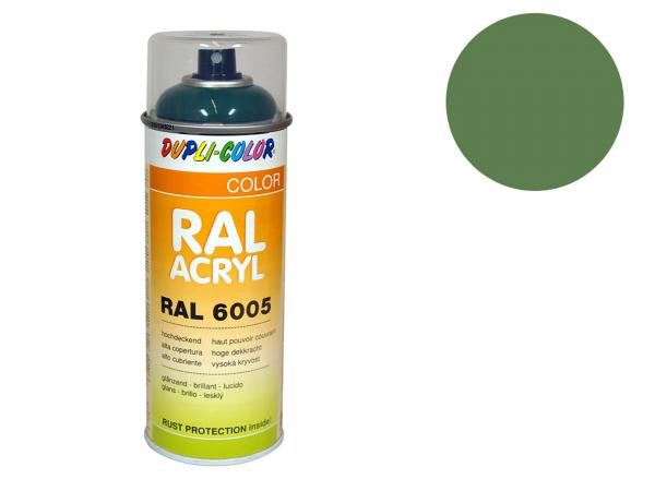 Dupli-Color Acryl-Spray RAL 6011 resedagrün, glänzend - 400 ml