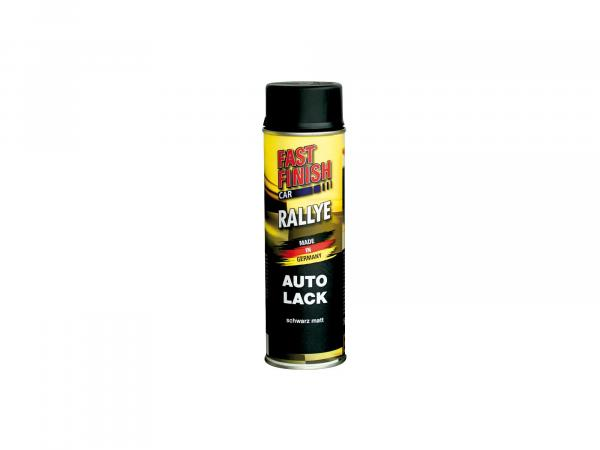 10064983 Fast Finish Car Autolack, schwarz, matt - 500ml - Bild 1