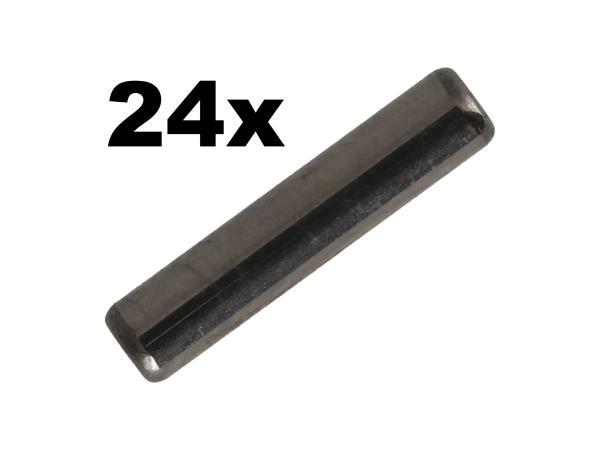 10069548 Set: 24x Lagernadel, 2,5x11,8, Abtriebs- und Antriebswelle - MZ  ETZ 250, 251, 301 - Bild 1