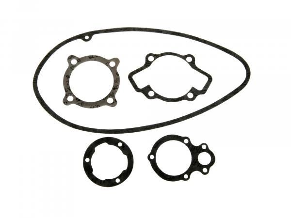 Gasket set motor, 5x single gaskets, material ABIL - MZ RT125/1, RT125/2 - IWL Pitty, SR56 Wiesel