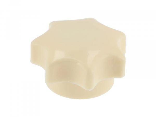Sterngriffmutter elfenbein ohne Druckscheibe TS250, TS250/1 (für rechten Seitendeckel)