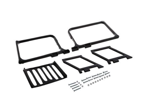 Gepäckträger schwarz - für MZ ETZ250