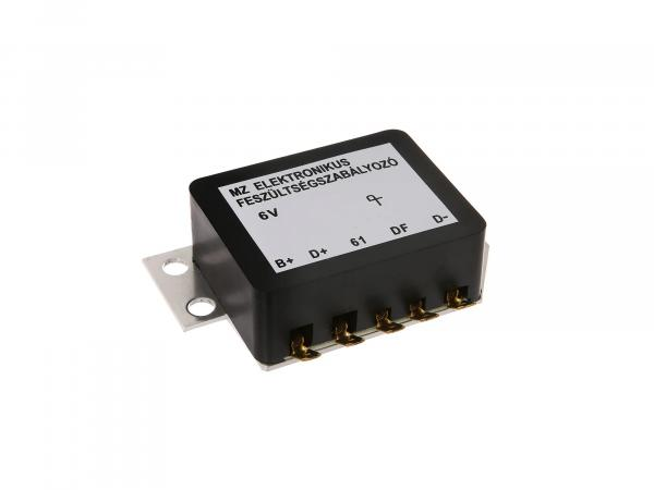Voltage regulator - electronic 6V - MZ ES125, ES150, ES175, ES250, ES 300, TS125, TS150, TS250