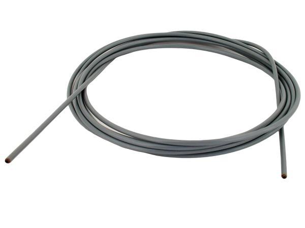 Bowdenzughülle grau, Ø 2,5mm innen, 5m lang