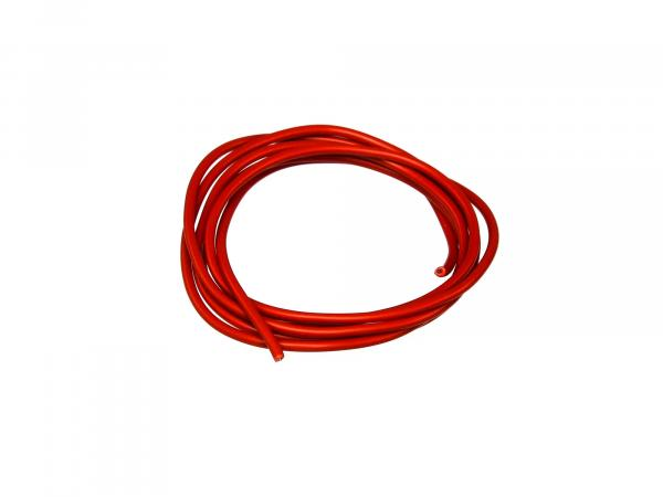 Cable - red 0,50mm² Automotive cable - 1m