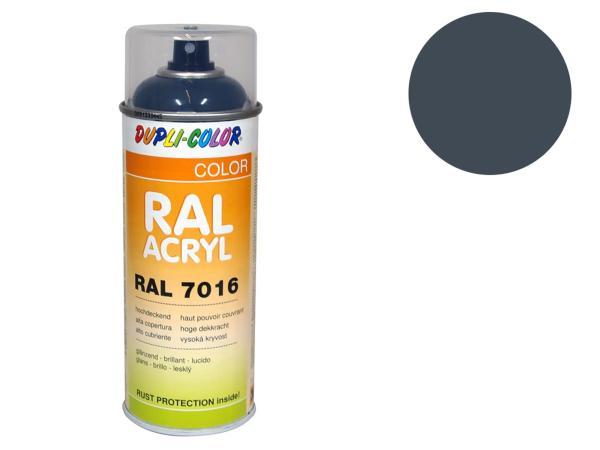 Dupli-Color Acryl-Spray RAL 7011 eisengrau, glänzend - 400 ml