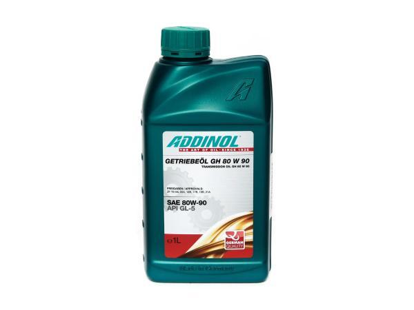 ADDINOL GH 80 W 90, Getriebeöl, (SAE-Klasse 90) teilsynthetisch, 1 L Dose