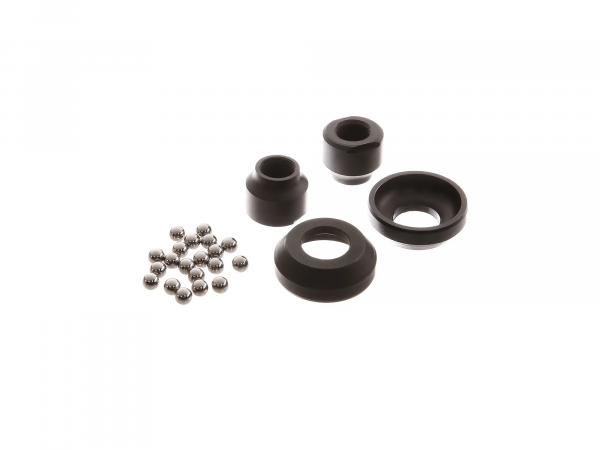 Set wheel bearings ø 12mm - incl. 2x bearing shell, 2x cone, 20x ball - OPTIMA-hub - SR1, SR2, SR2E, KR50