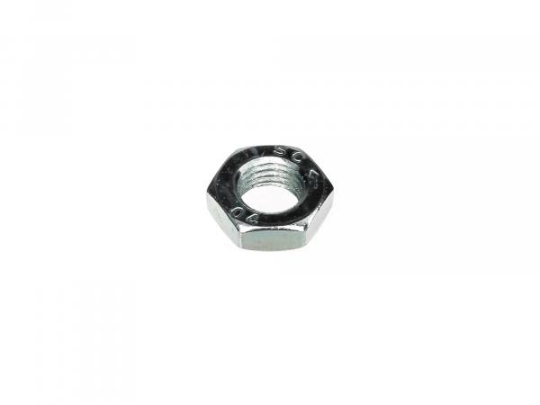 Hexagon nut M12x1,5 low form, left hand thread - DIN936